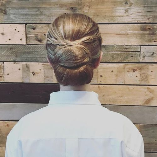 Sleek Updos for Medium Hair
