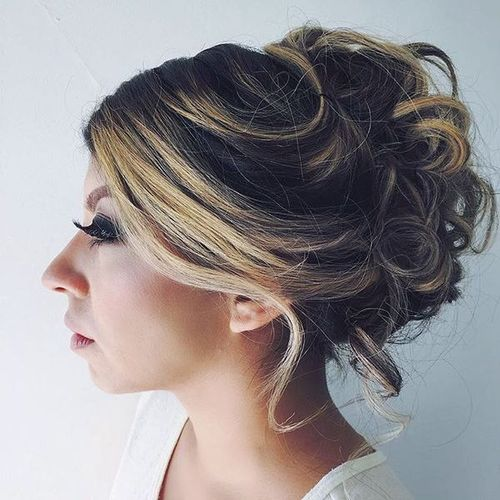 Loose Updos for Medium Length Hair