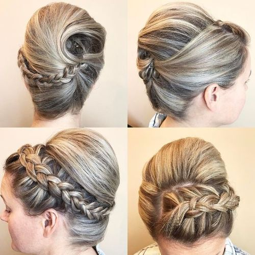 60 easy updos for medium length hair updos with braids for medium length hair solutioingenieria Choice Image