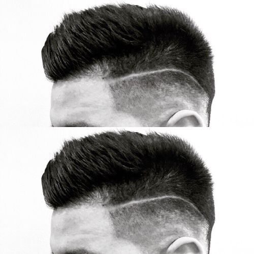 Heavenly Classic Faux Hawk