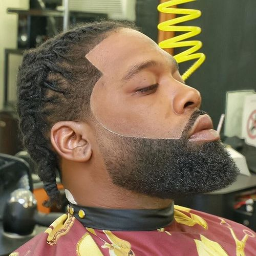 Dreadlocks Style with Massive Beard