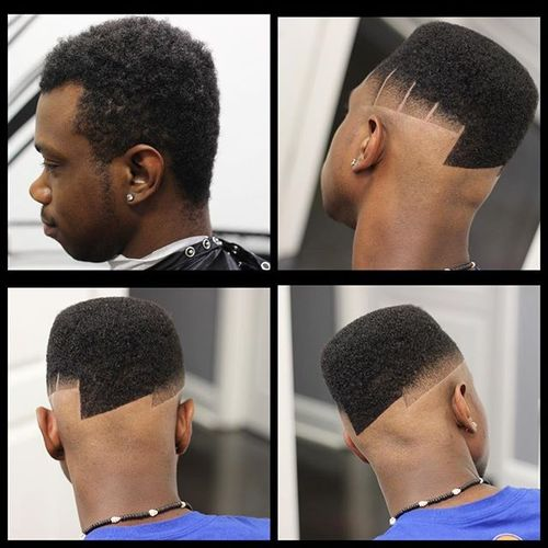 High Top with Fade Design