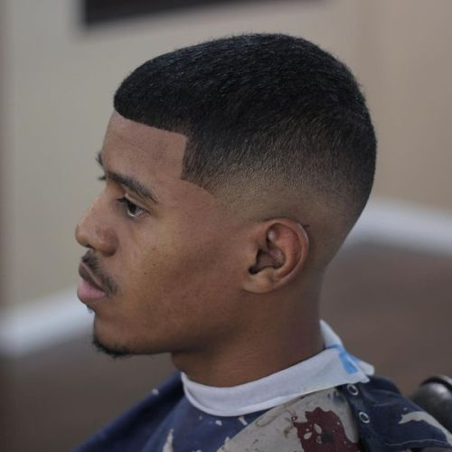 tapered haircuts for black men