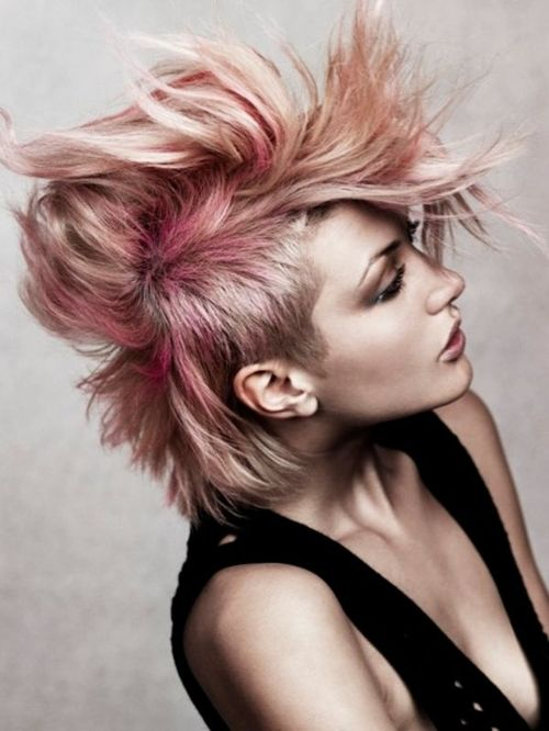emo hairstyles girls - top