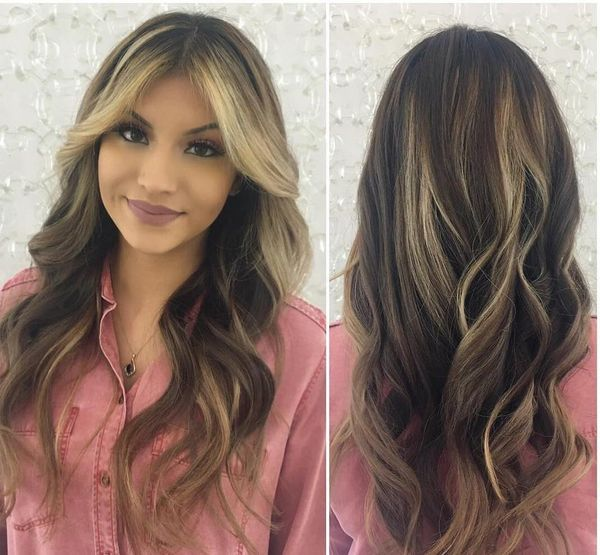 30 balayage hair color ideas for dark brown blonde and brunette hair fascinating balayage haircut to accent the glory of the ladies pmusecretfo Images
