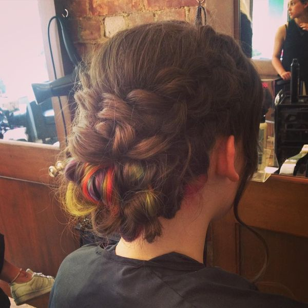 Braided rainbow
