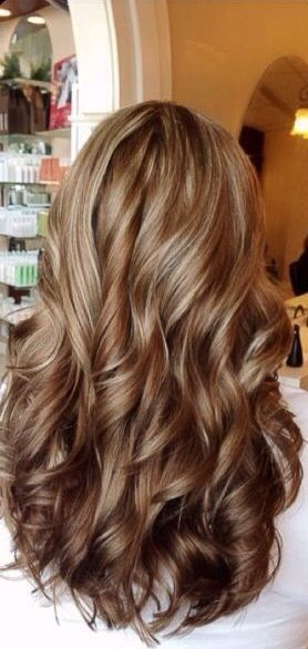 30 brown hair with highlights the chai latte hair with chunky blonde highlights pmusecretfo Images