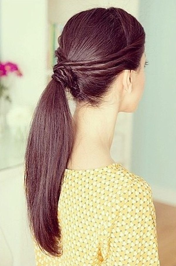 Twists for ponytail style