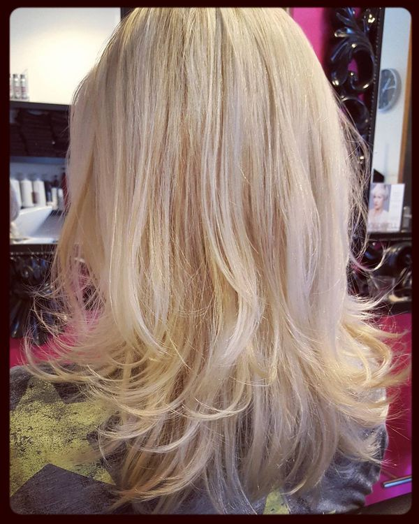 Silver Blonde Light Hairstyle