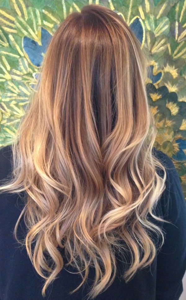 30 brown hair with highlights the dimensional blonde highlights on the light golden brown pmusecretfo Gallery