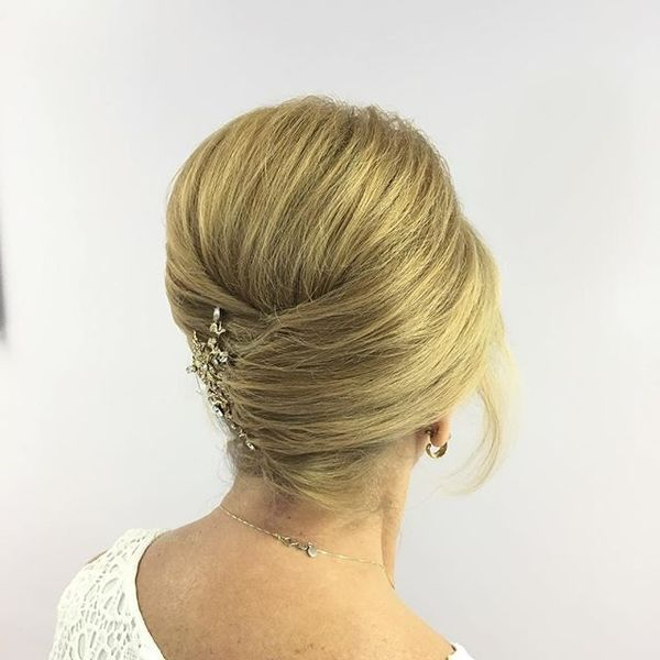 Slick French Twist for Special Occasion