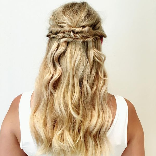 Twisted Blonde Waterfall