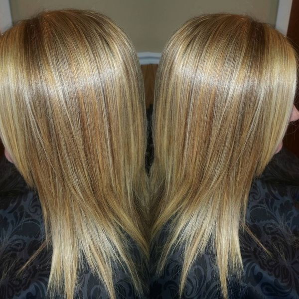 Shiny and Smooth 3D Coloring for Fine Hair