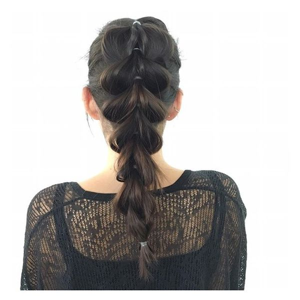 Pull-Through Braid with Elastics