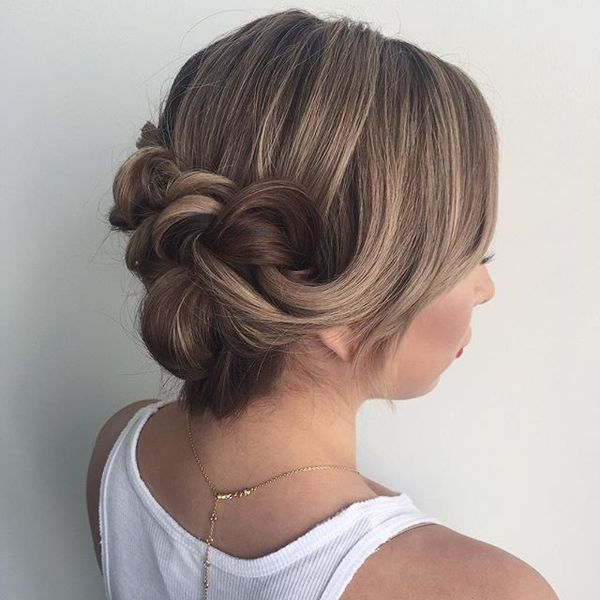 Low-Do Romantic Hairstyle