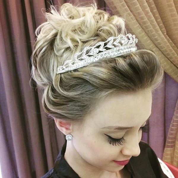 Disheveled Royal Updo