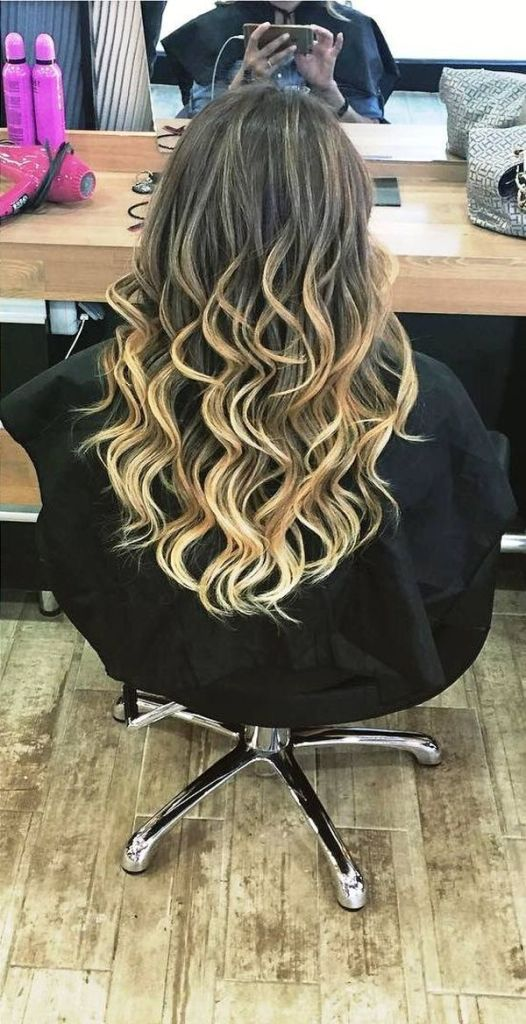 The accurate butter-blonde highlights on the natural color