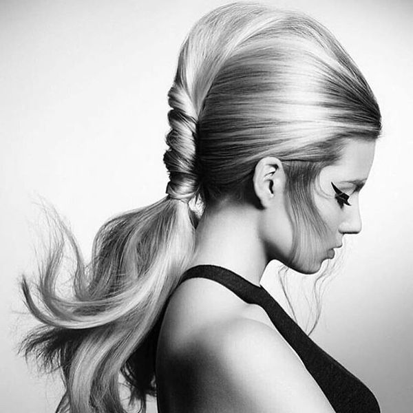 Twisted Pony with Bouffant