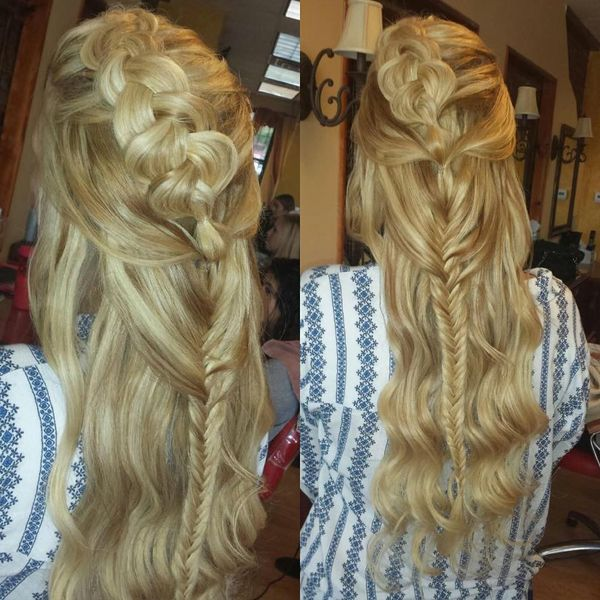 Rapunzel hairstyle