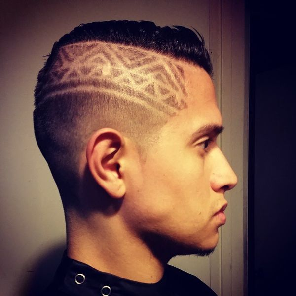 Patterned Shaved Sides