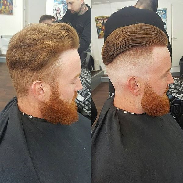 How to slick your hair back mens slicked hairstyles slick back for wavy hair urmus Choice Image