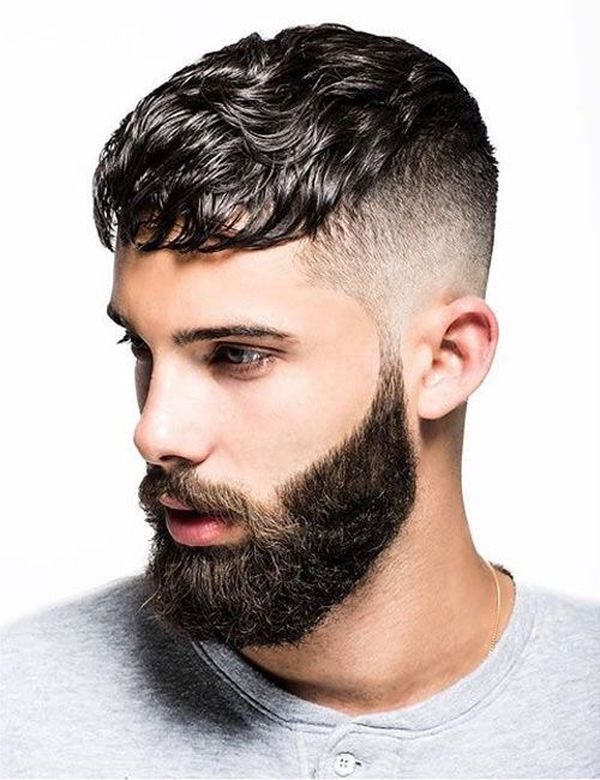 Undercut with the wavy top