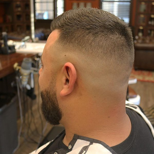 The high and tight haircut with a beard