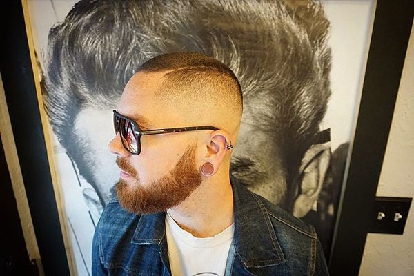 41 Faded sides with a thick beard