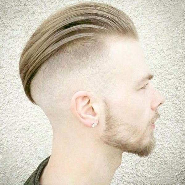 Slick Style for Long Top Hair