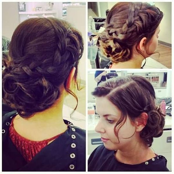 Admirable Updo for Any Occasion