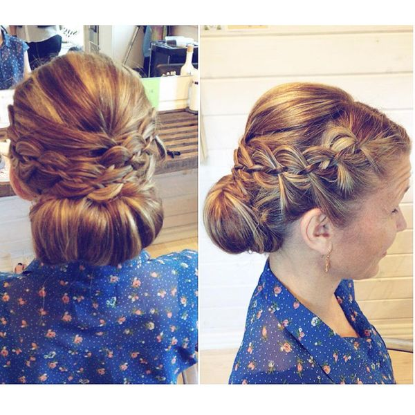Adorable Low Chignon