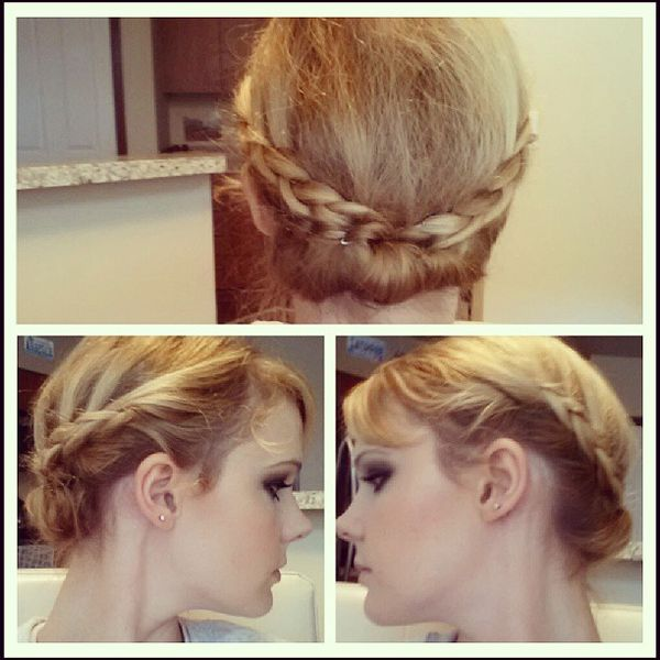 Beautiful Braided Updo0