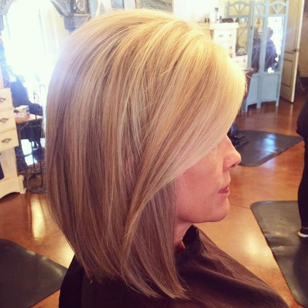 Cool Caramel Straight Hairstyle