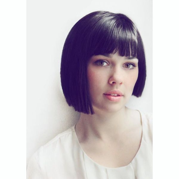 Glossy Bob with Sharp & Edgy Lines567