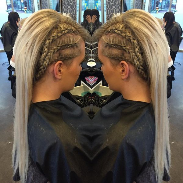 Great Mohawk Braided Style
