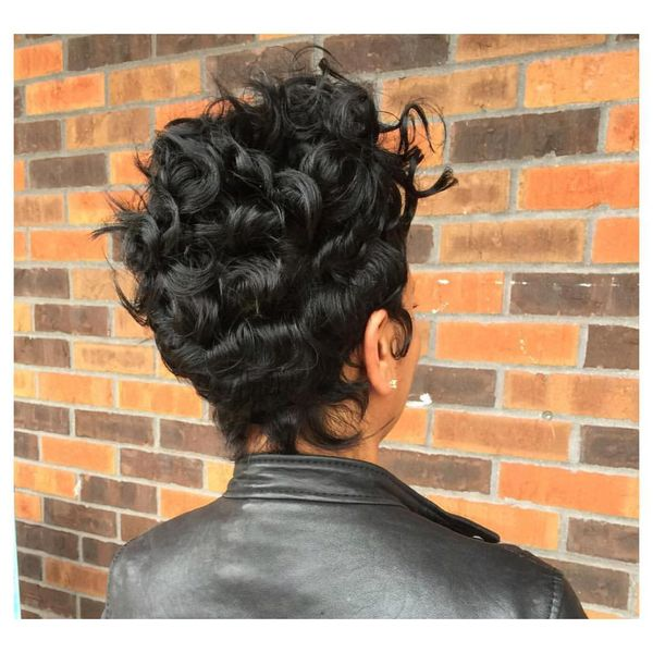 Layered Volume Cut for Thick Hair1