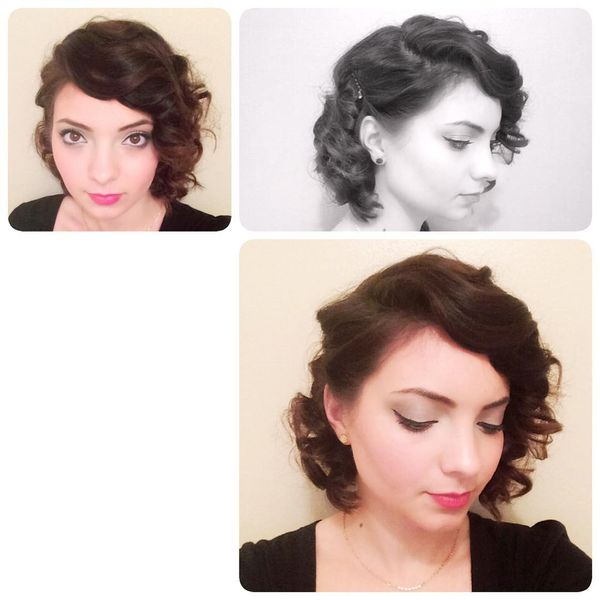 One-Side Stunning Curls