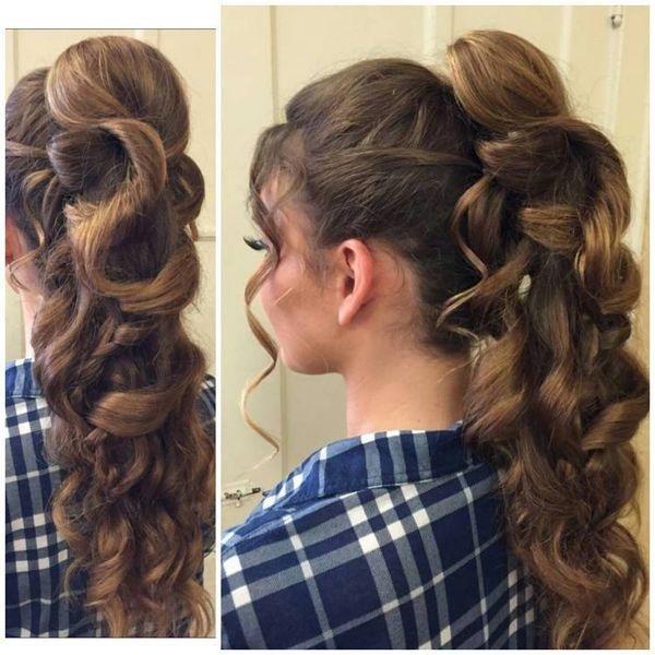 Ponytail Idea for the Special Evening