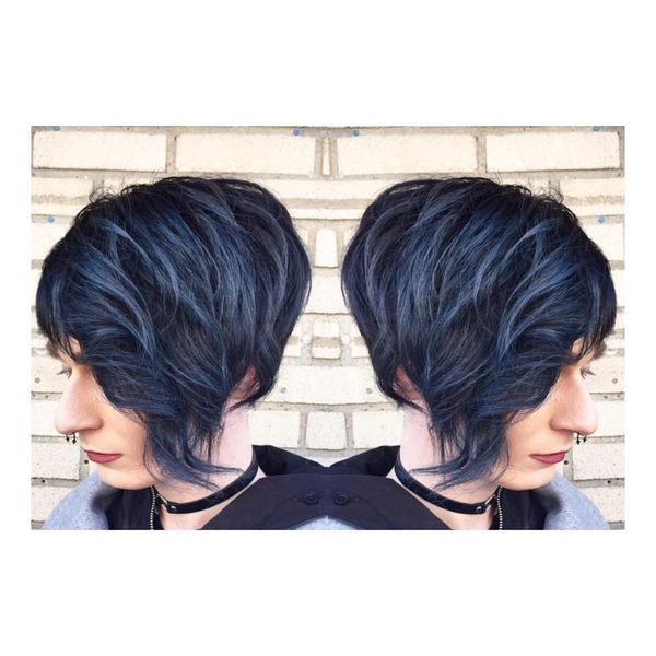 Stunning Multilevel Bob with Soft Waves3