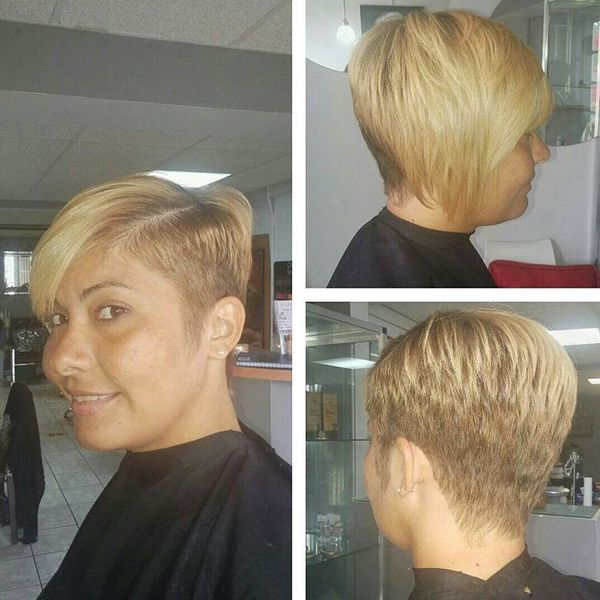 Summer Short Asymmetrical Haircut0