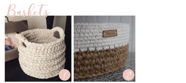 Crochet-Baskets