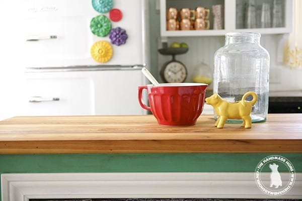 How To Seal Stain Wooden Countertops The Handmade Home