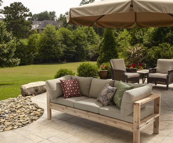 Patio Sectional Plans 5 Diy Outdoor Sofas To Build For Your Deck Or Patio - The
