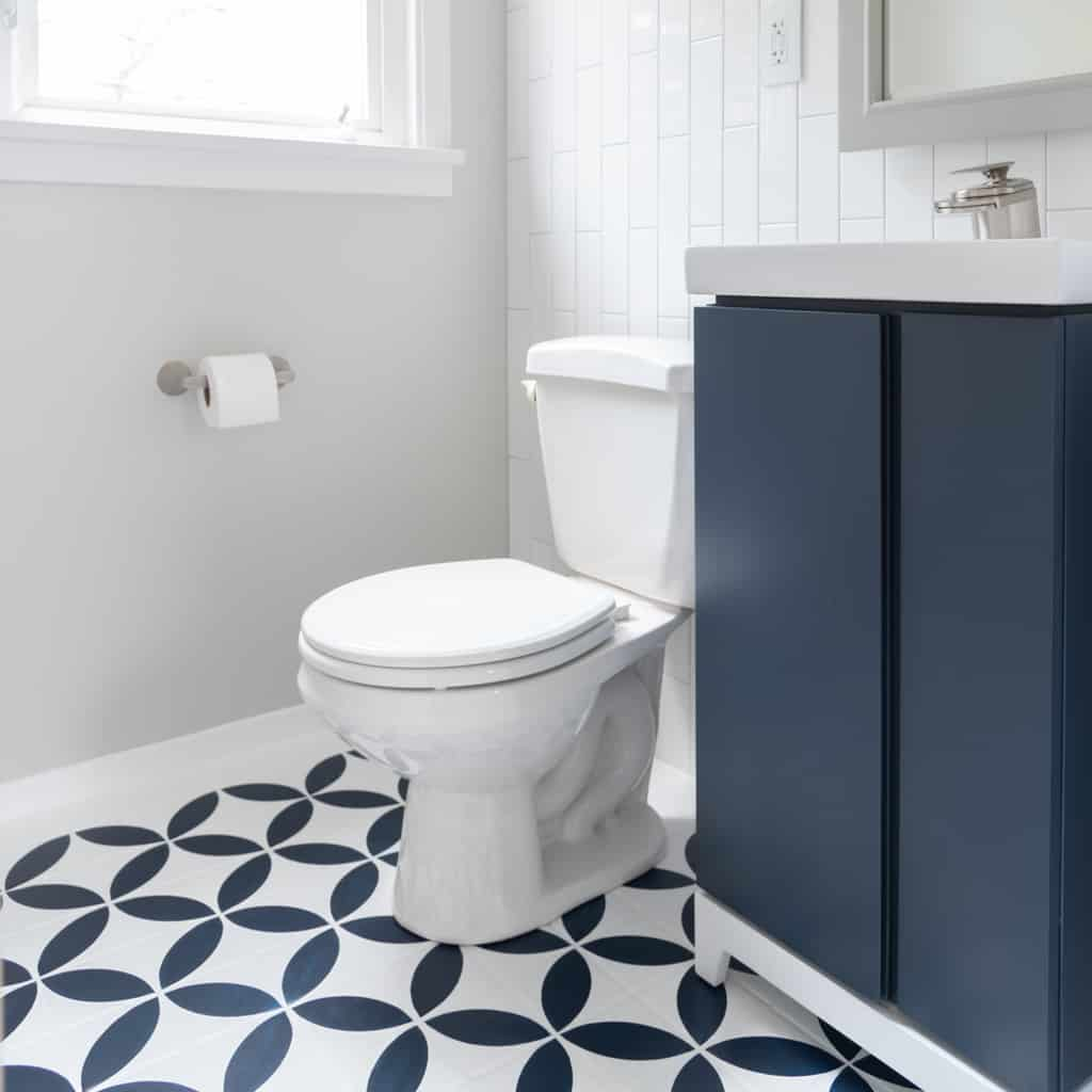 Half Bath Remodel Reveal The Handyman S Daughter