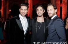 Renato Lopez, Daniel Goodman y Sebastian Zurita