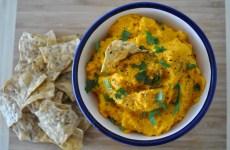 hummus de zanahoria receta