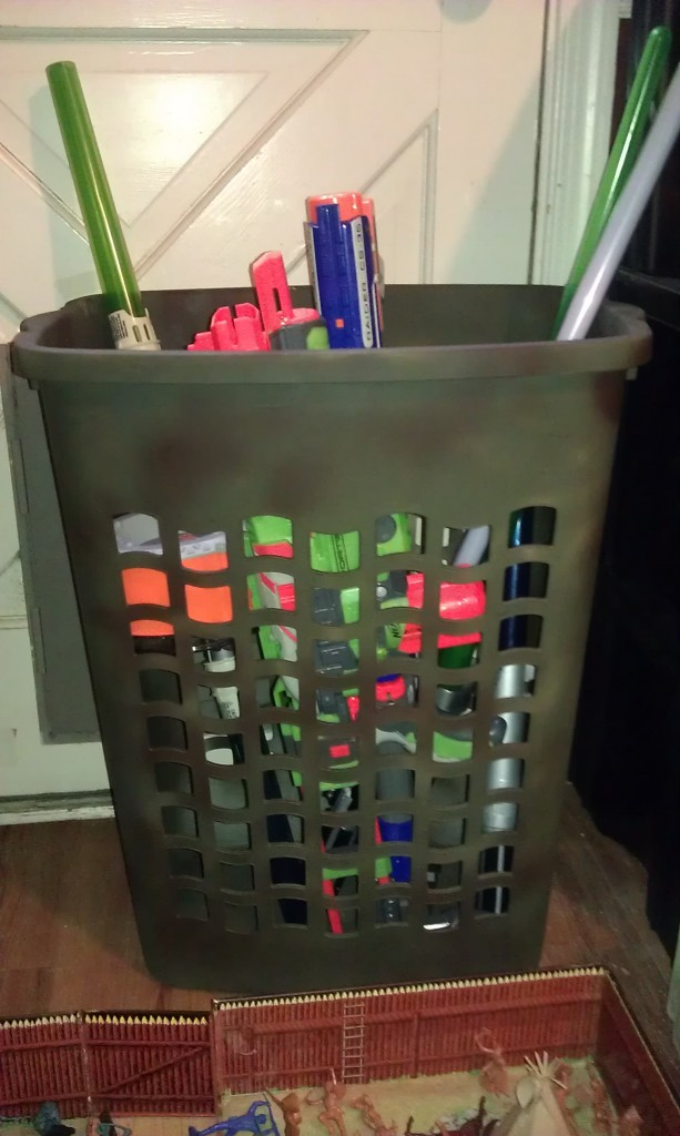 Ikea Clothes Hamper Large Toy Organization - The Happy Housewife™ :: Home