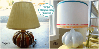 Light Up Your Life: Upcycle a Thrifted Lamp - The Happy Housie