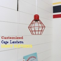 Customized Cage Lantern Light Fixtures