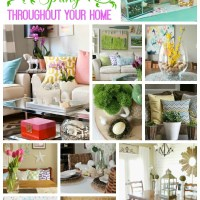 "Add a Little ""Spring"" to Every Room in Your House {Spring Decorating Ideas}"